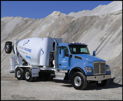 CNG Powered CalPortland Kenworth T880S Concrete Mixer Truck