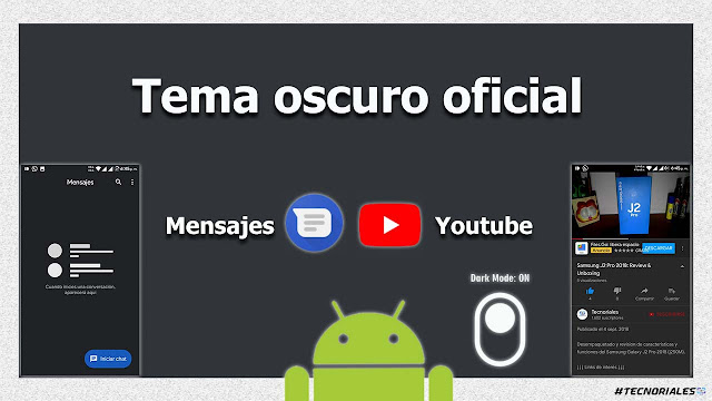 tema oscuro android