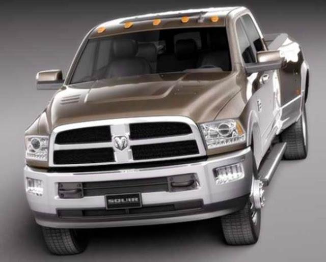 2017 Dodge RAM 2500 SLT Diesel Redesign