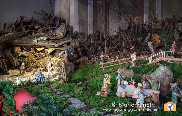 Presepe nella chiesa di san Rocco a Campagnano