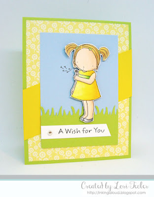 A Wish for You card-designed by Lori Tecler/Inking Aloud-stamps from My Favorite Things