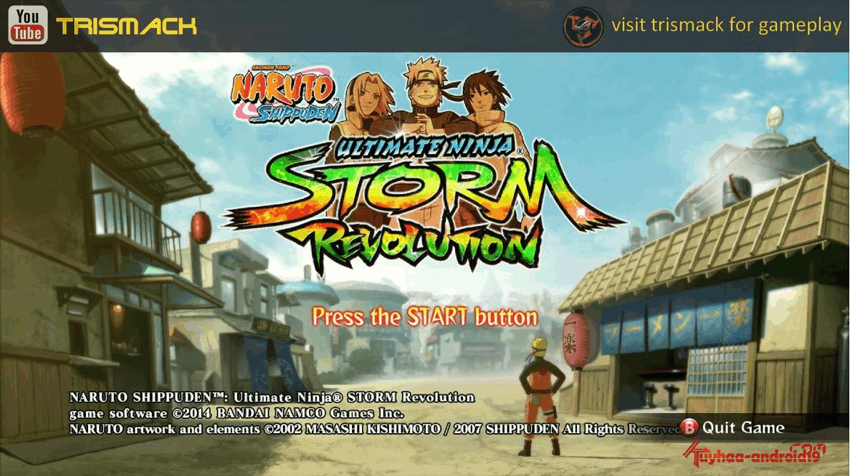 download naruto ninja storm revolution bagas31