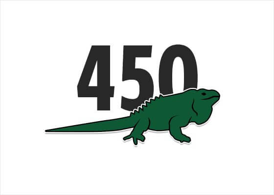 Lacoste Is Replacing Its Historic Crocodile Logo With Ten Endangered Species - The Anegada Ground Iguana