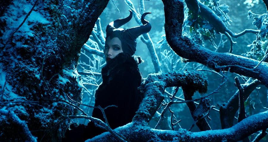 ANGELINA JOLIE personajul negativ din filmul Maleficent
