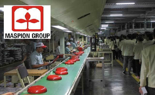Lowongan Kerja Terbaru PT Maspion Group Wilayah Jawa Timur (Lulusan SMA/SMK/Setara/D3/S1)