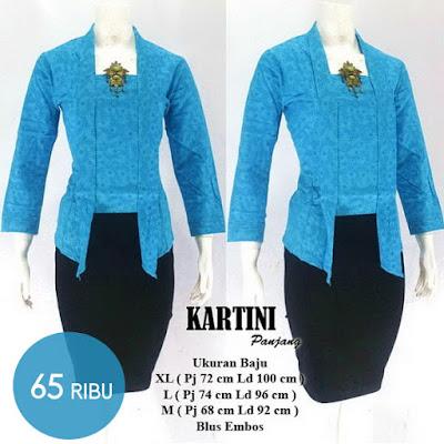blouse-batik-kebaya-kartini-biru