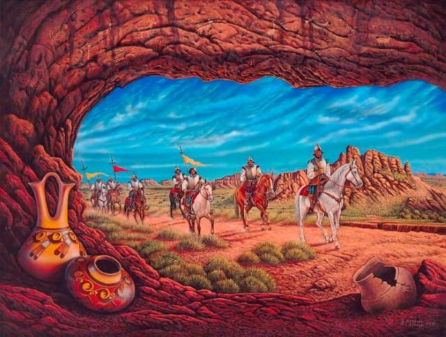 Дали пустыни. Ricardo Chavez Mendez 26