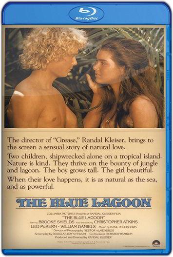 El lago azul (1980) HD 1080p Latino