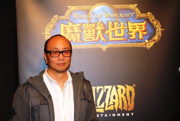 美商暴雪娛樂台灣總經理孟慶良。