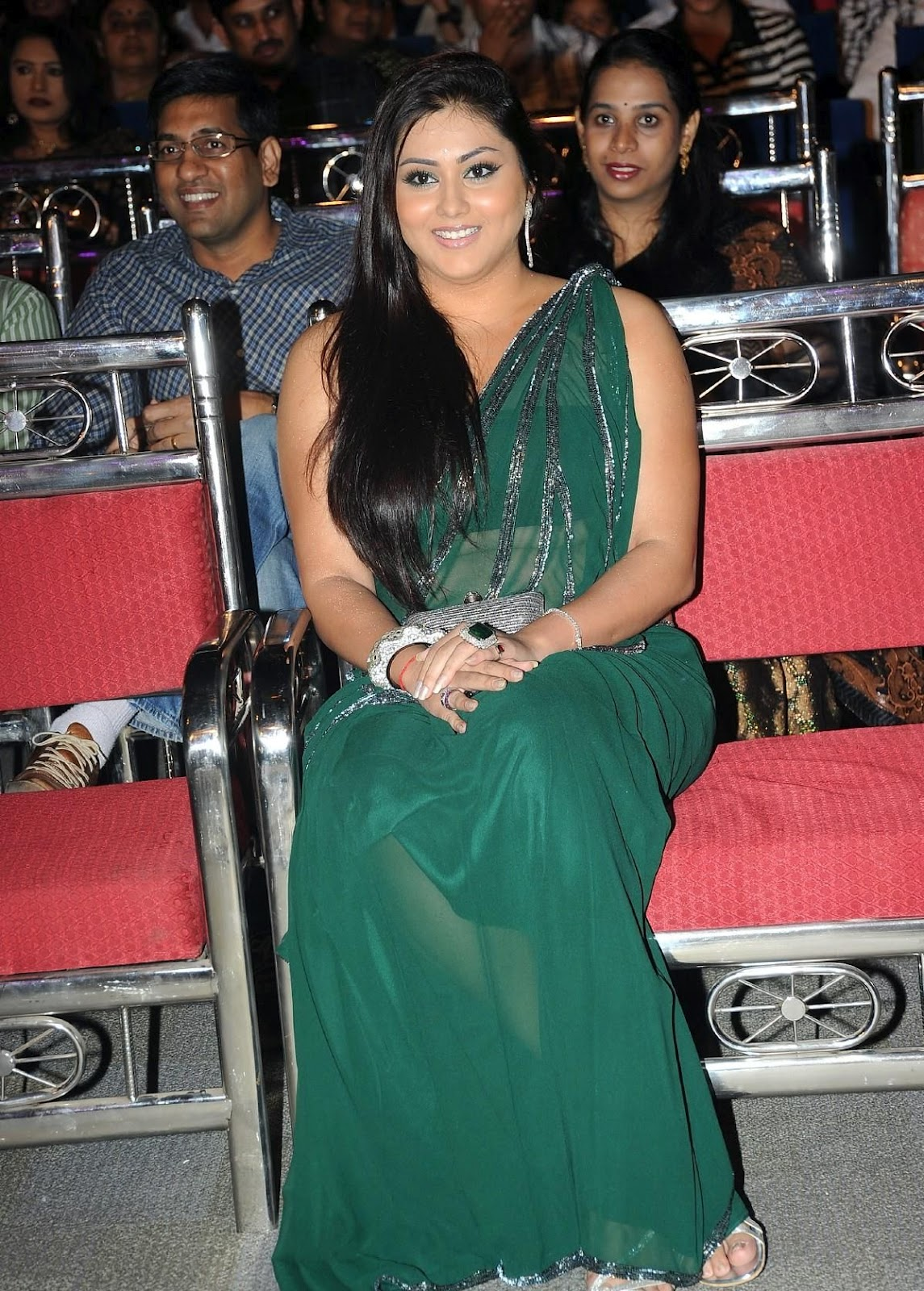 Namitha Maya at lux cinema award 2012 - latest stills 007