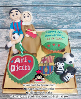 Cupcake Ulang Tahun Barcelona