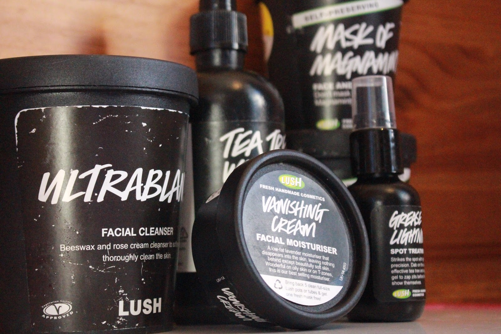 Lush Cosmetics Skin Care Routine Acne Prone Skin Aida