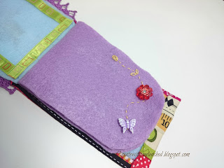 Cross Stitch felt needle book 2