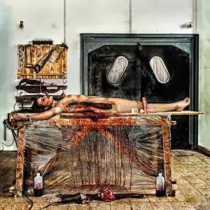 Prostitute Disfigurement - From Crotch to Crown