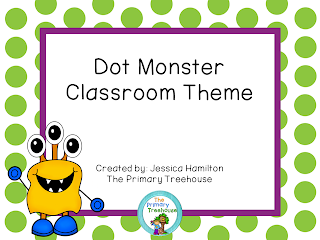 https://www.teacherspayteachers.com/Product/Dot-Monster-Classroom-Theme-Decor-EDITABLE-1364492
