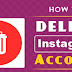 How You Delete Instagram