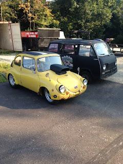 Daily Turismo: Small Fry: 1969 Subaru 360 Microvan
