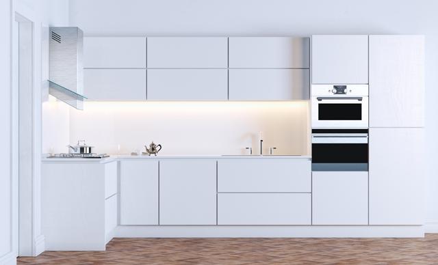 Dapur Bersih Minimalis Modern