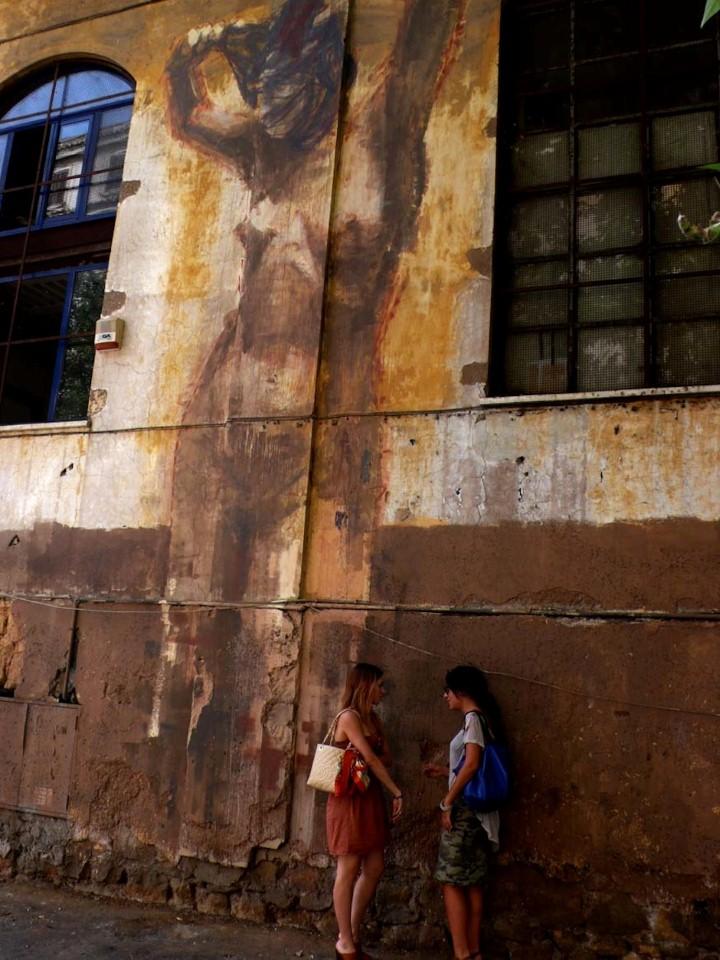 Классика на стенах. Borondo 16