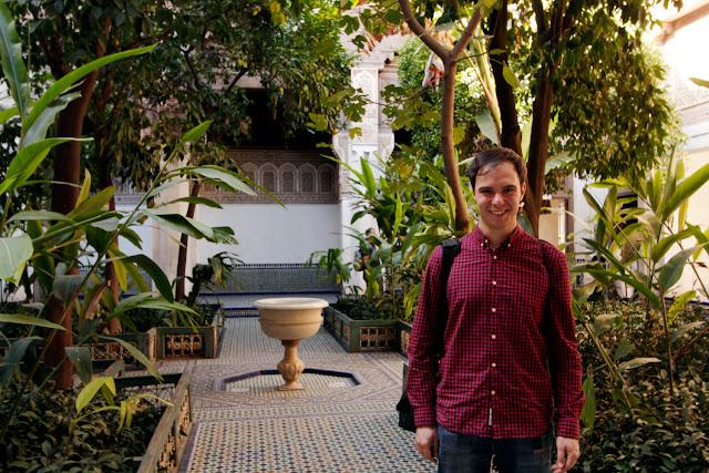 Uno de los patios del Palacio Bahía