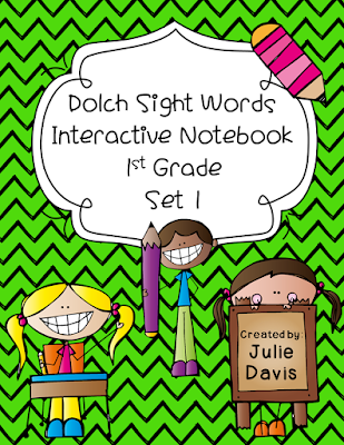 https://www.teacherspayteachers.com/Product/1st-First-Grade-Dolch-Sight-Word-Interactive-Notebooks-Set-1-1790173