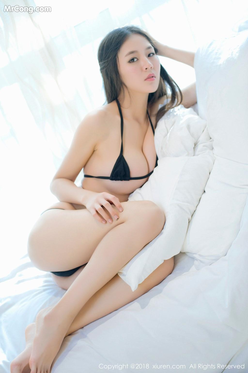 Image XIUREN-No.1003-Mote-Yue-Yue-MrCong.com-008 in post XIUREN No.1003: Người mẫu Mote Yue Yue (模特悦悦) (46 ảnh)