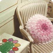 Cojin y Tapete a Crochet