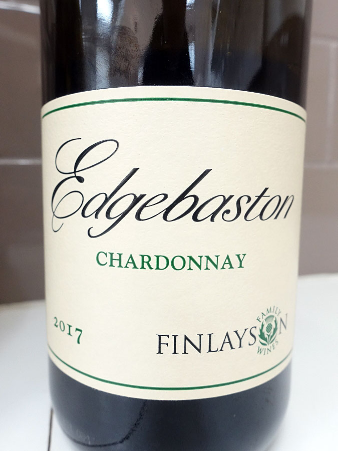 Edgebaston Chardonnay 2017 (88 pts)