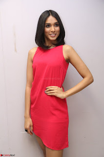 Spatika Surapaneni in Red Tight Dress at FBB Miss India 2017 finalists at Telangana auditions Feb 2017 (56).JPG