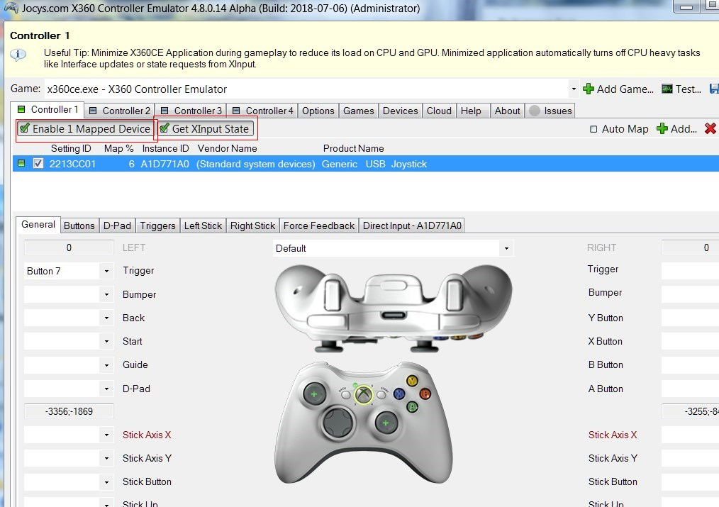 Use Generic Games Controller for Fortnite and Other Epic Games