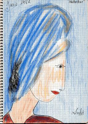cuadernos Andés diario de un pintor 1982