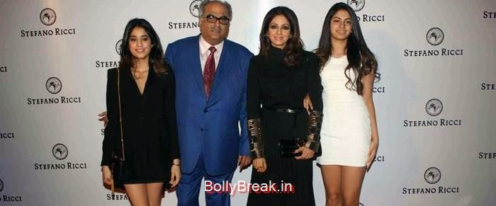 , Jhanvi Kapoor, Khushi Kapoor Hot Pics with Sridevi