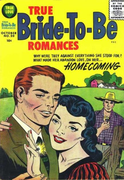 Simon-Kirby Harvey Romance Comics