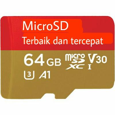 MicroSD terbaik untuk android