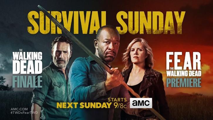 Fear The Walking Dead & The Walking Dead - Crossover Promo