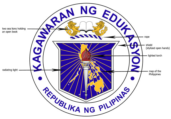 turtz on the go new deped official seal logo 2012
