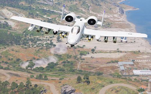 Arma3用A-10 Warthog MOD