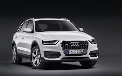 Audi Q3 SUV White Wallpaper