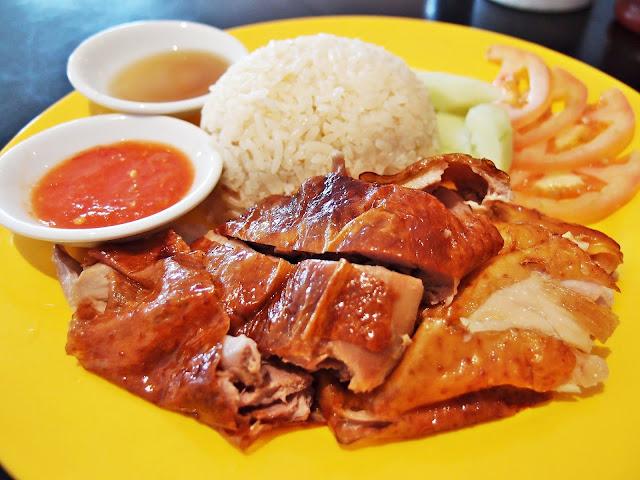 Chicken And Duck Rice Merdeka 2016 Hawker Street Food Marriot Putrajaya Selangor