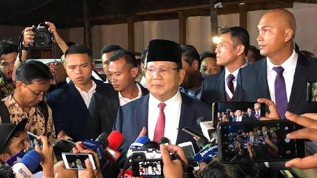 Prabowo Prihatin Banyak Pelabuhan di Indonesia Diserahkan ke Asing