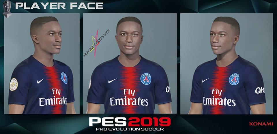 PES 2019 Moussa Diaby (PSG) face