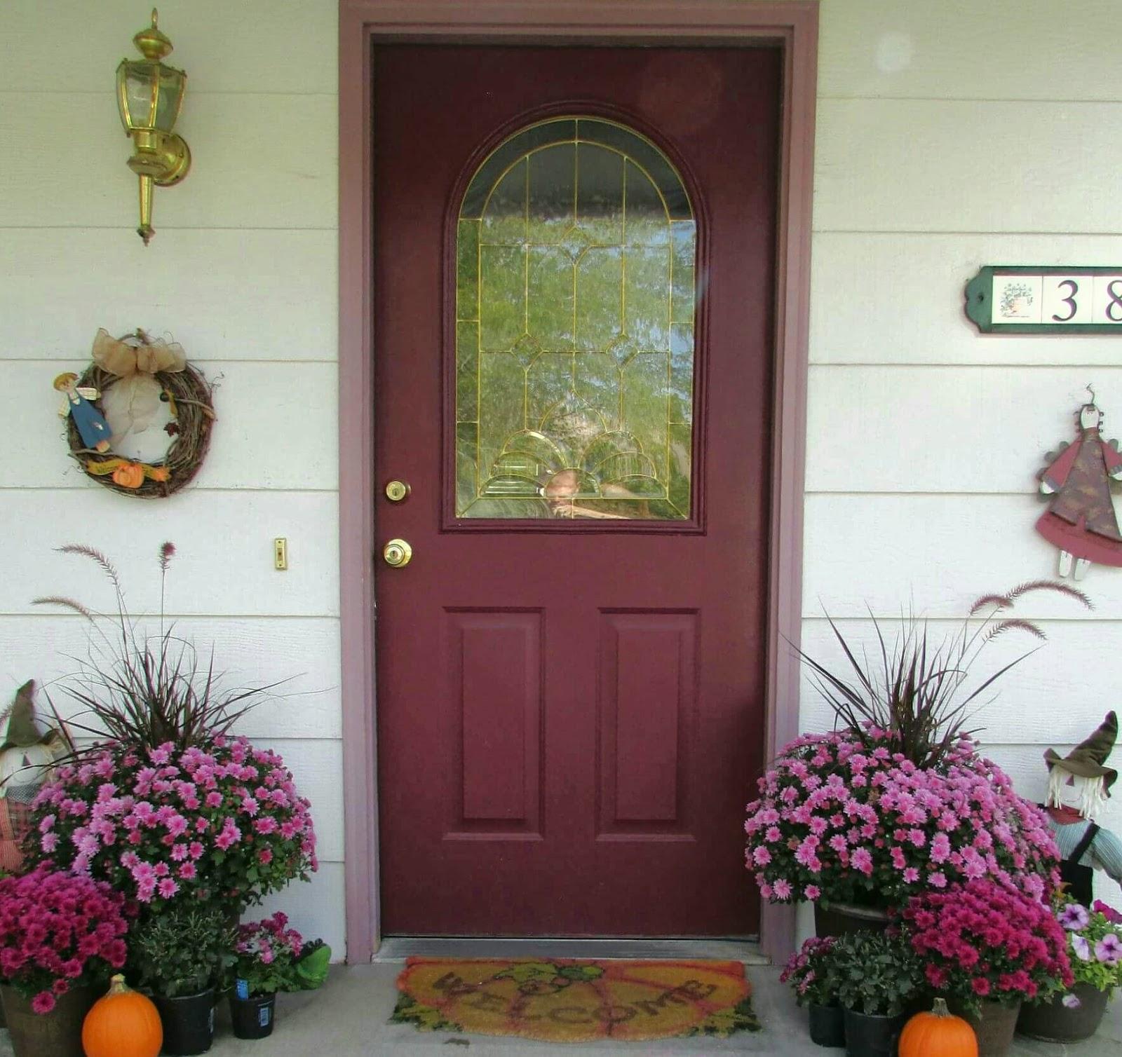 Fall Front Door: Twochicksandamom.blogspot.com: Fall Front Door