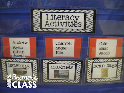 How to Organize Literacy Center Rotations