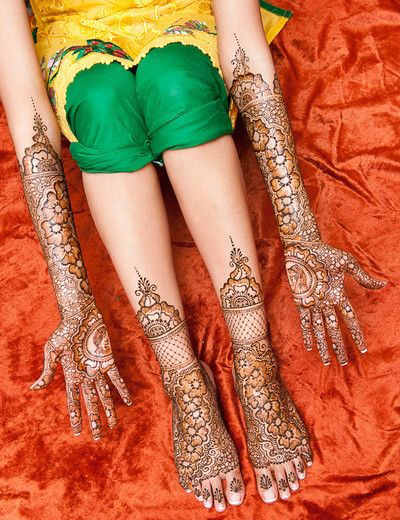 Mehndi Designs For Hands Amp Legs : Best and beautiful bridal mehndi designs for full hands legs romantic love messages quotes