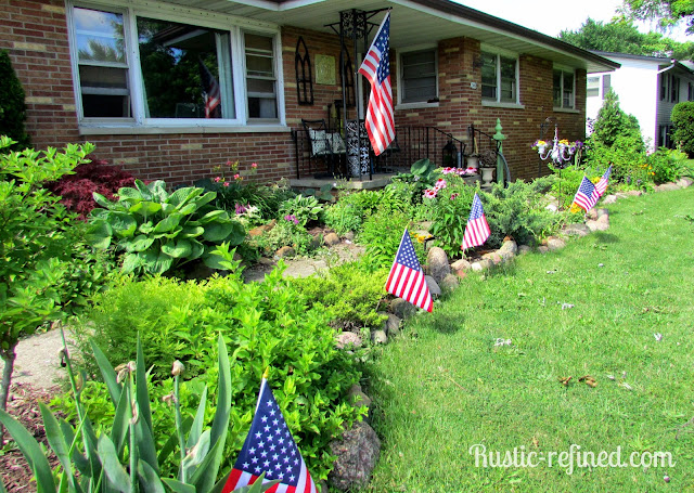 Summer Garden Tour showcasing tons of flowers and shrubs