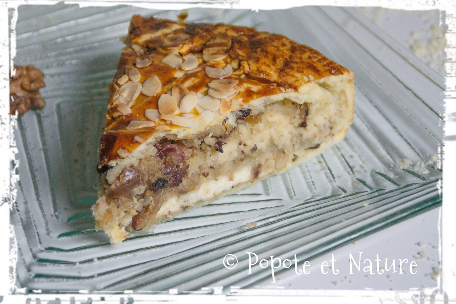 Préférence Popote et Nature: Tourte à étages à l'amande, noix et dattes  MS79
