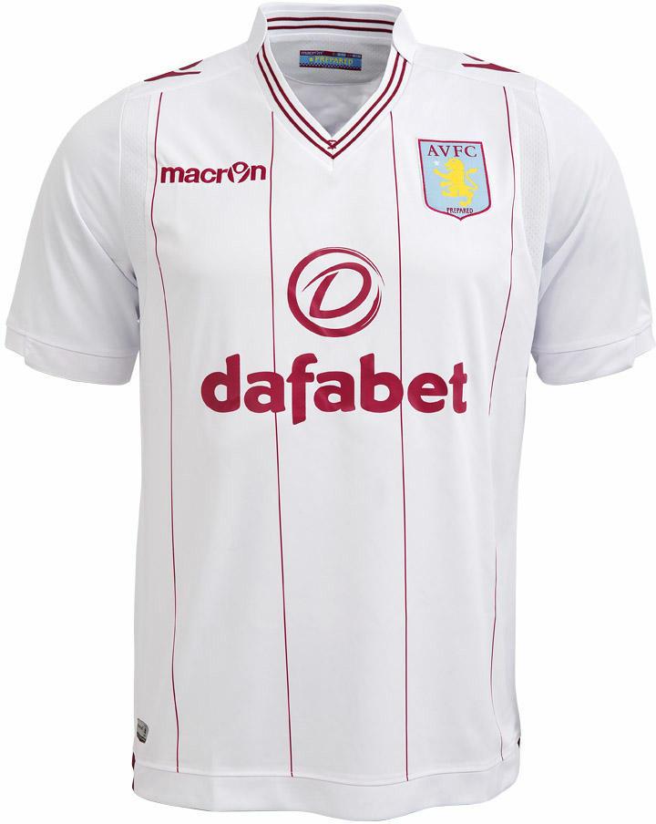 Aston Villa Yellow Away Kit