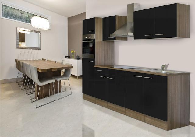 Küchenzeile 270 Cm Mit Geschirrspüler