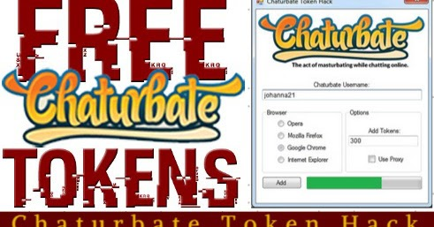 Chaturbate token generator without survey