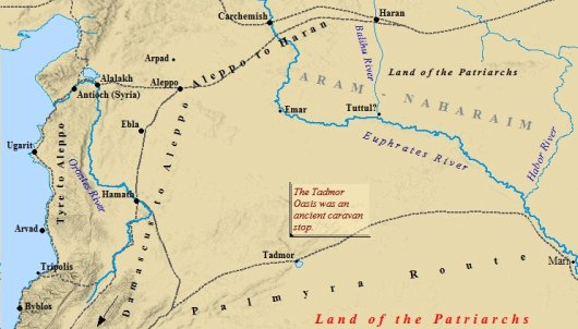 Map Of Middle East In Bible Times - Ancora.store •